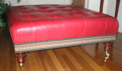 Ottoman and Cushions
